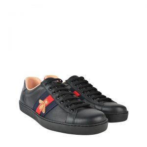 Gucci Ace Snake Sneaker For women black shoes In pakistan