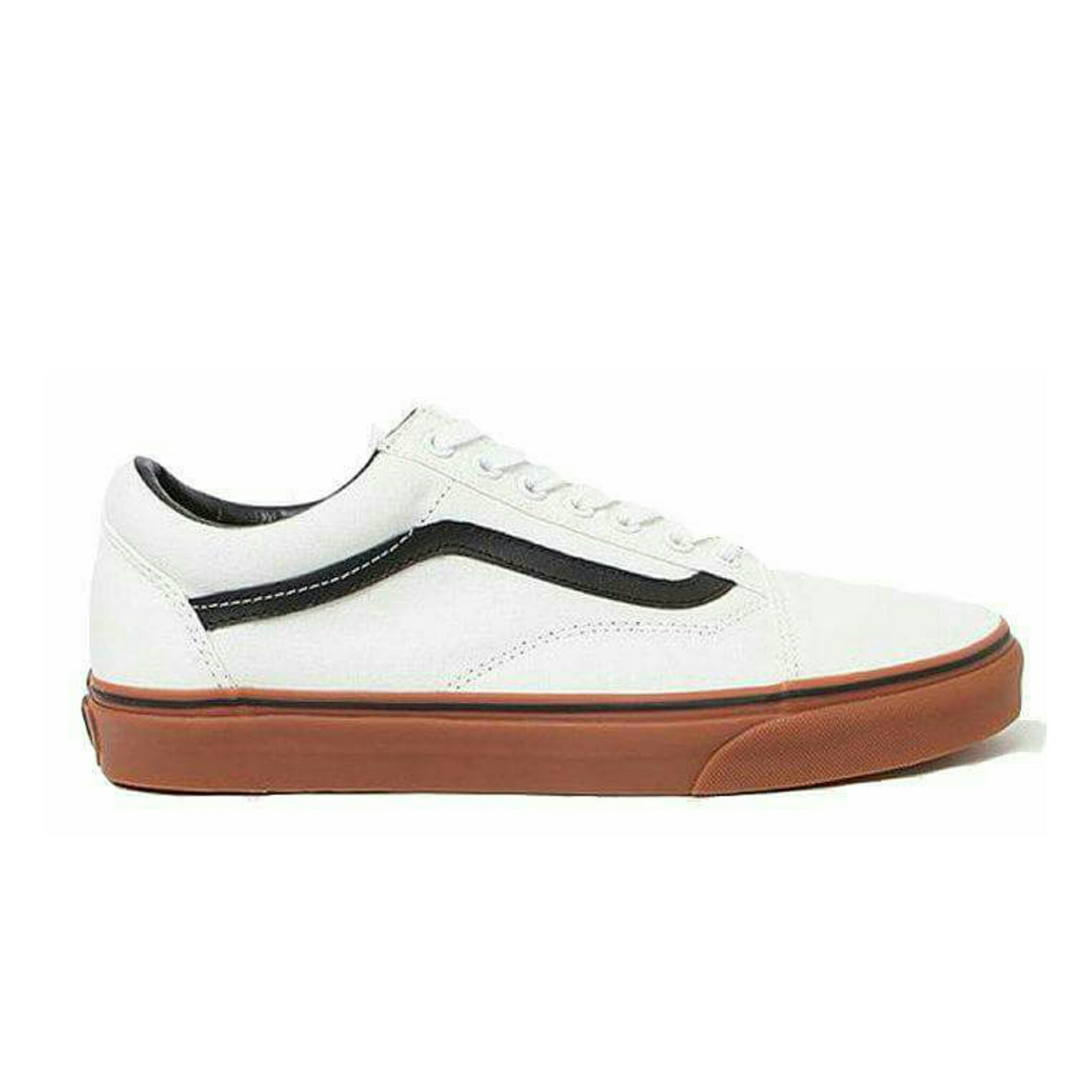 c575836ba7 Vans Old Skool White And Black Gum Sole   Best Prices   Shoes Online ...