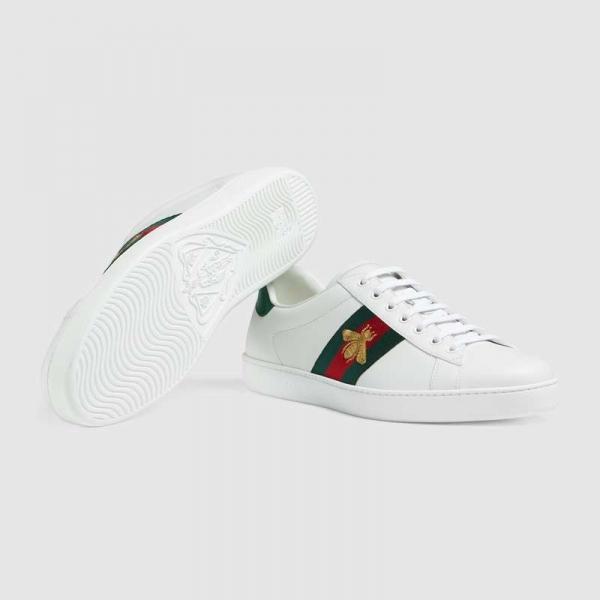 Gucci Ace Bee Sneaker For Women