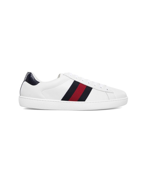 Gucci Ace Leather Sneaker For Women